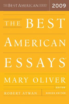 Cover image for The best American essays 2009