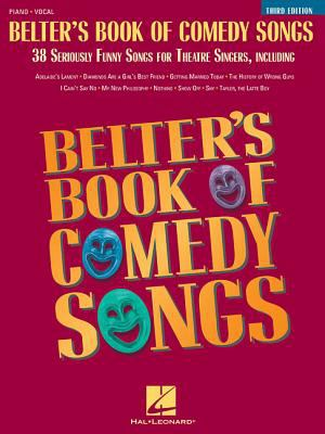 Cover image for Belter's book of comedy songs : piano-vocal.