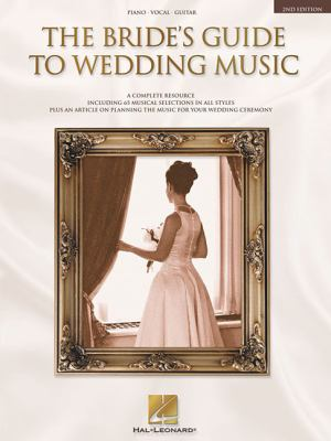 Cover image for The bride's guide to wedding music.