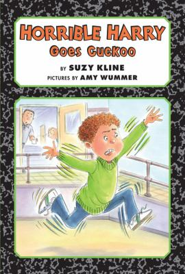 Cover image for Horrible Harry goes cuckoo
