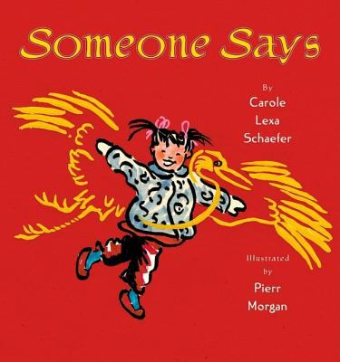 Cover image for Someone says