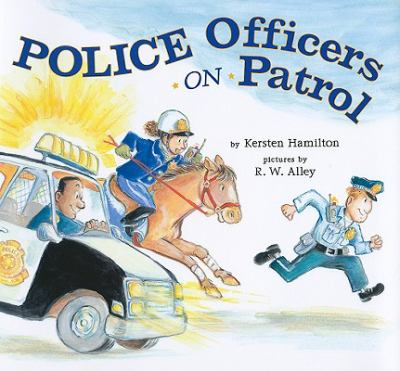 Cover image for Police officers on patrol