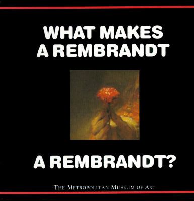 Cover image for What makes a Rembrandt a Rembrandt?