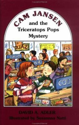 Cover image for Cam Jansen and the Triceratops Pops mystery
