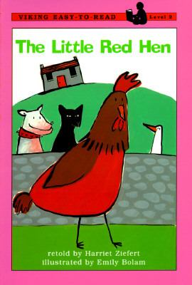 Cover image for The little red hen