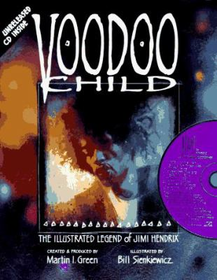 Cover image for Voodoo child : the illustrated legend of Jimi Hendrix