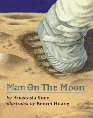 Cover image for Man on the moon