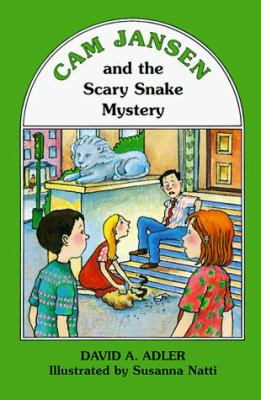 Cover image for Cam Jansen and the scary snake mystery