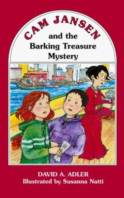 Cover image for Cam Jansen and the barking treasure mystery