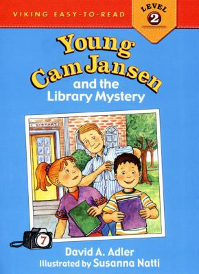 Cover image for Young Cam Jansen and the library mystery