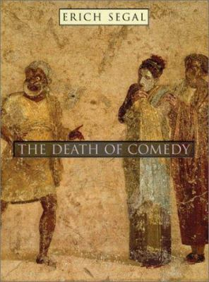 Cover image for The death of comedy