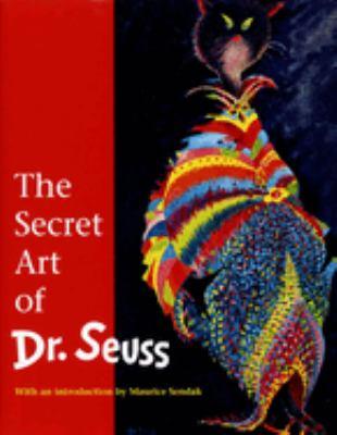 Cover image for The secret art of Dr. Seuss