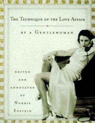 Cover image for The technique of the love affair