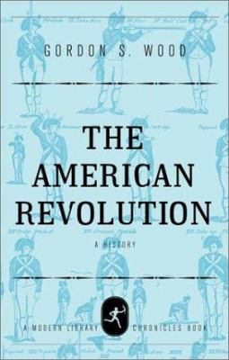Cover image for The American revolution : a history