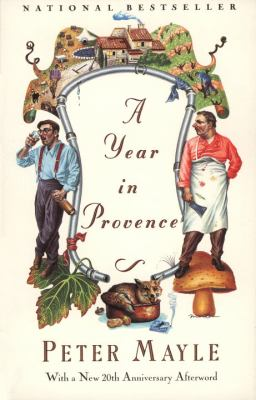Cover image for A year in Provence