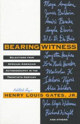 Cover image for Bearing witness : selections from African-American autobiography in the twentieth century