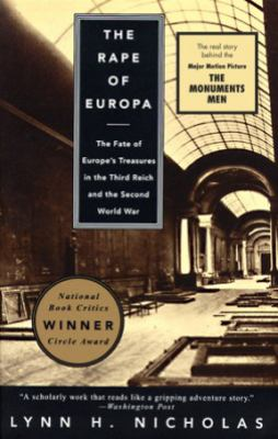 Cover image for The rape of Europa : the fate of Europe's treasures in the Third Reich and the Second World War