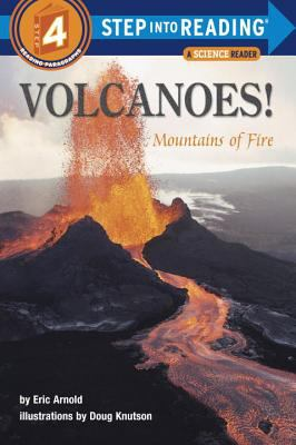 Cover image for Volcanoes! : mountains of fire