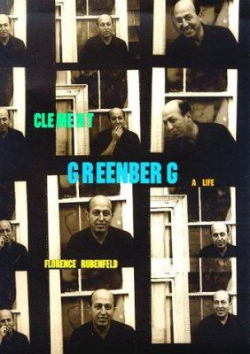 Cover image for Clement Greenberg : a life