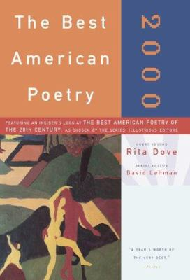 Cover image for The Best American poetry, 2000