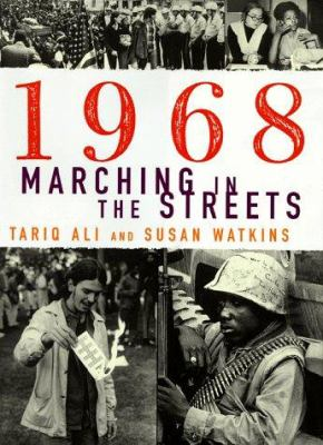 Cover image for 1968, marching in the streets