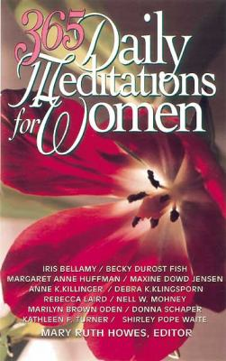 Cover image for 365 daily meditations for women
