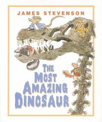 Cover image for The most amazing dinosaur