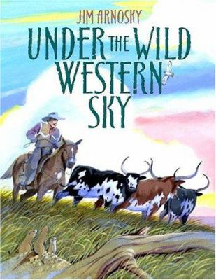 Cover image for Under the wild western sky