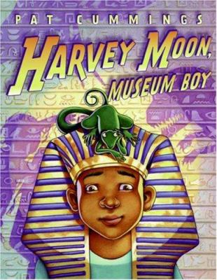 Cover image for Harvey Moon, museum boy