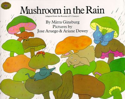 Cover image for Mushroom in the rain