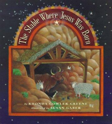 Cover image for The stable where Jesus was born