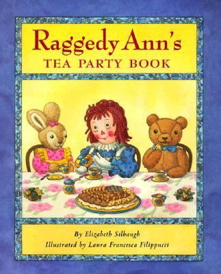 Cover image for Raggedy Ann's tea party book
