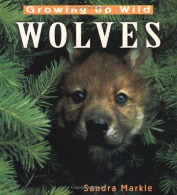 Cover image for Growing up wild : wolves