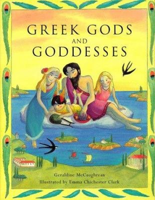 Cover image for Greek gods and goddesses
