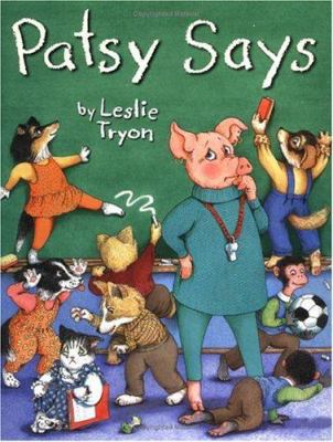 Cover image for Patsy says