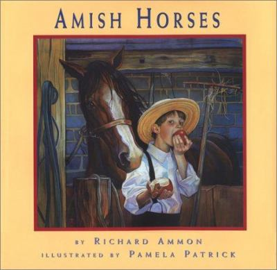 Cover image for Amish horses