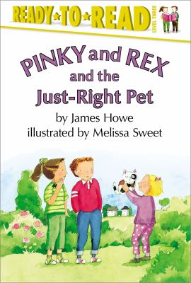 Cover image for Pinky and Rex and the just-right pet
