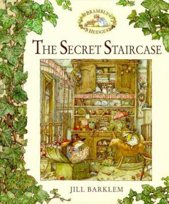 Cover image for The secret staircase