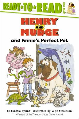 Cover image for Henry and Mudge and Annie's perfect pet : the twentieth book of their adventures