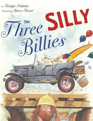 Cover image for The three silly billies