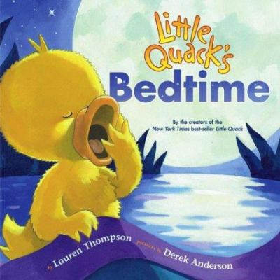 Cover image for Little Quack's bedtime