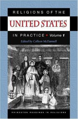Cover image for Religions of the United States in practice