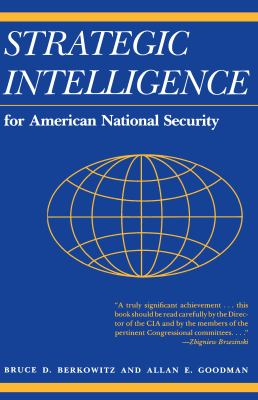 Cover image for Strategic intelligence for American national security