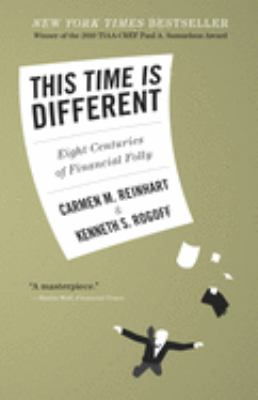 Cover image for This time is different : eight centuries of financial folly