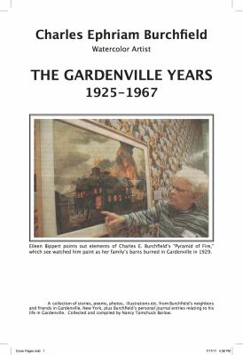 Cover image for Charles Ephriam Burchfield : the Gardenville Years 1925-1967