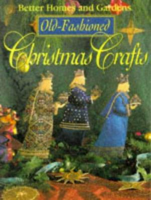 Cover image for Old-fashioned Christmas crafts