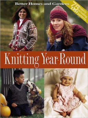 Cover image for Knitting year-round.