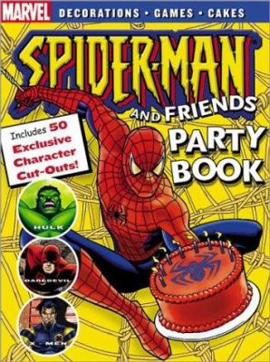 Cover image for Spider-man party book