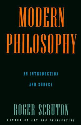 Cover image for Modern philosophy : an introduction and survey