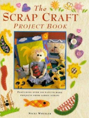 Cover image for The scrap craft project book